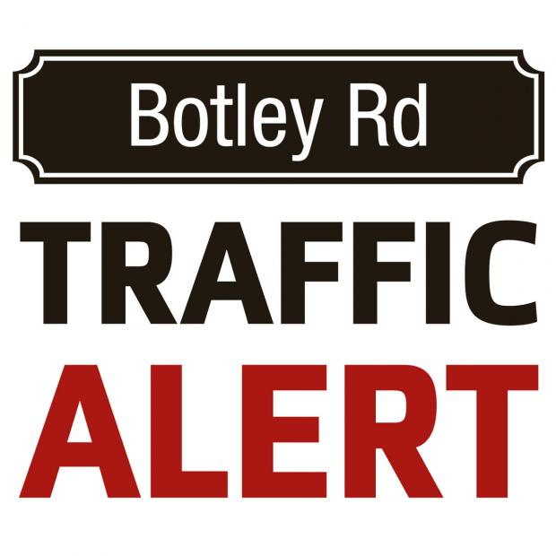 The Oxford Times: Roadworks on Botley Road causing delays