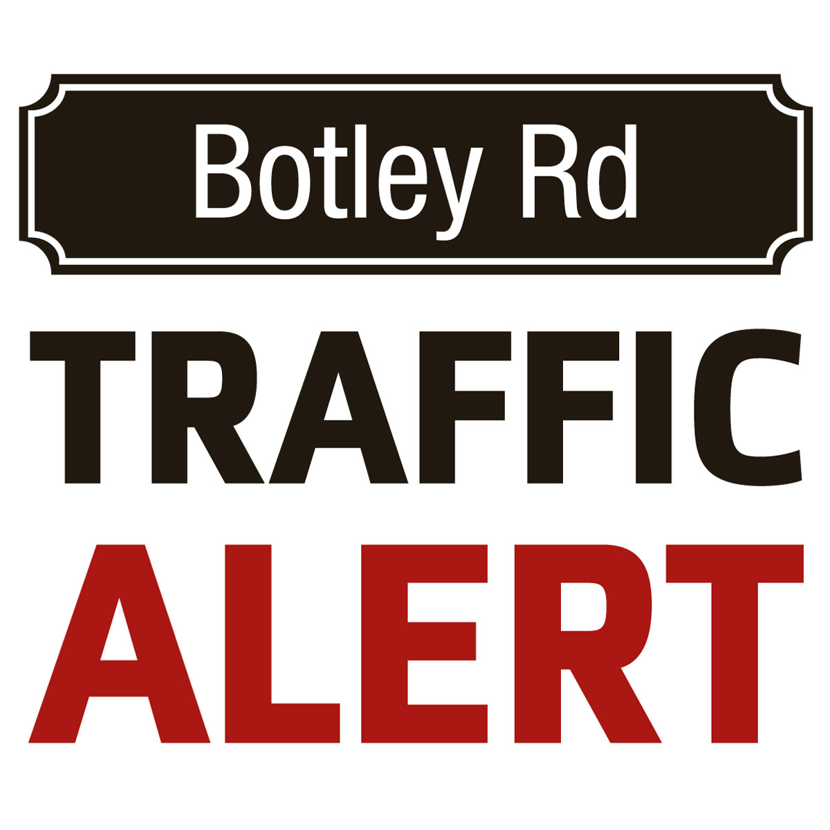 Roadworks on Botley Road causing delays