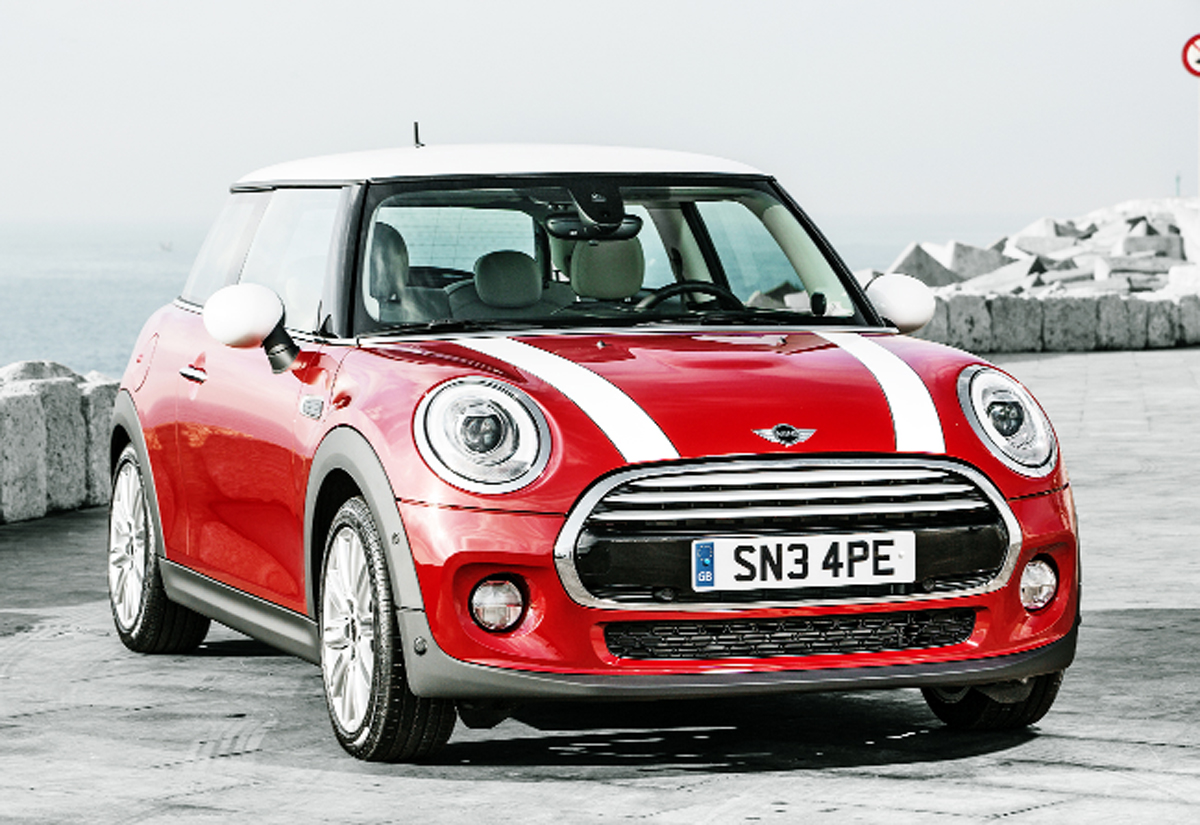 Mini sales are highest in the United States, followed by the UK