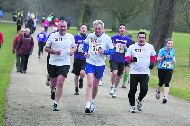 The Oxford Times: Runners taking part in last year's race at Blenheim Palace