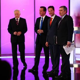 Nick Clegg has urged David Cameron not to avoid 2010-style TV debates before the next election.