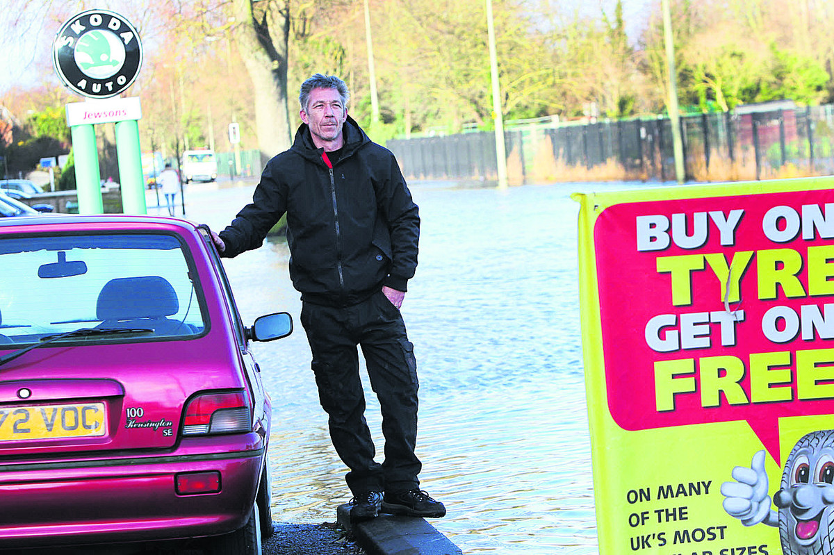 FLOODING: Businesses count the cost as floods close Abingdon Road
