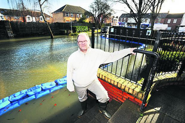 ANNOYED: James Jefferson is still waiting for an entrance ramp to be installed at Osney Court