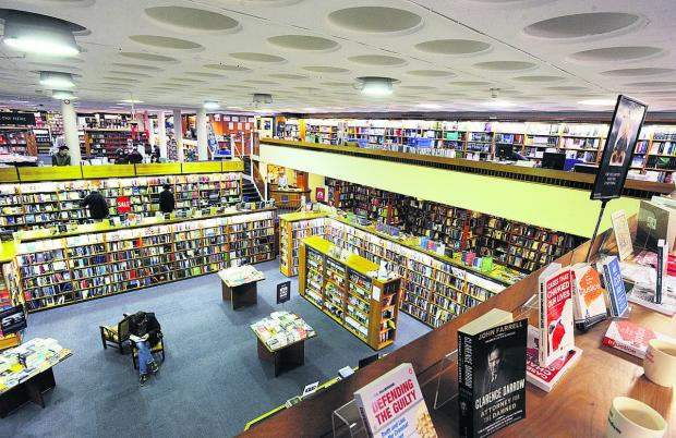 Blackwell's in Broad Street boasts four floors and contains the world's largest single
