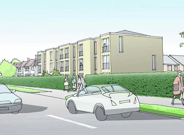 The Oxford Times: An artist's impression of the development