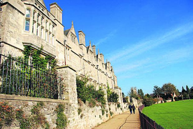 Students at Merton College could be housed in a new development.