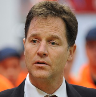 Nick Clegg said