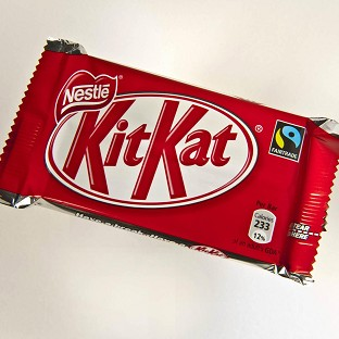 Nestle wants to register the three-dimensional shape of a Kit Kat as a trademark