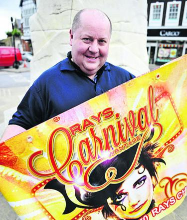 Ray Collins will be promoting Ray's Wantage Carnival