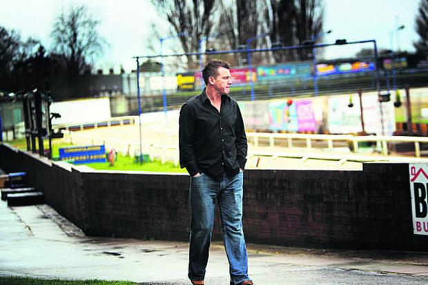 SUPPORT: Ex-Oxford United star Joey Beauchamp wants to see greyhound racing return to the stadium