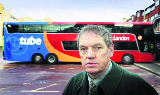 Les Sibley wants airport and London buses to call at Bicester's new park- and-ride
