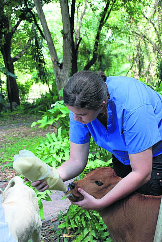 The Oxford Times: Lauren Jobson in action in Botswana