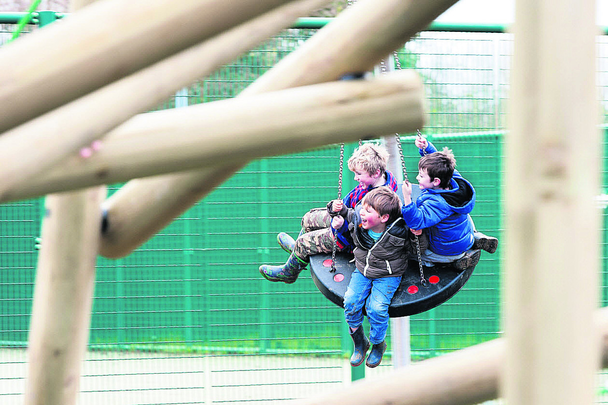 New playgrounds cater for children of all ages