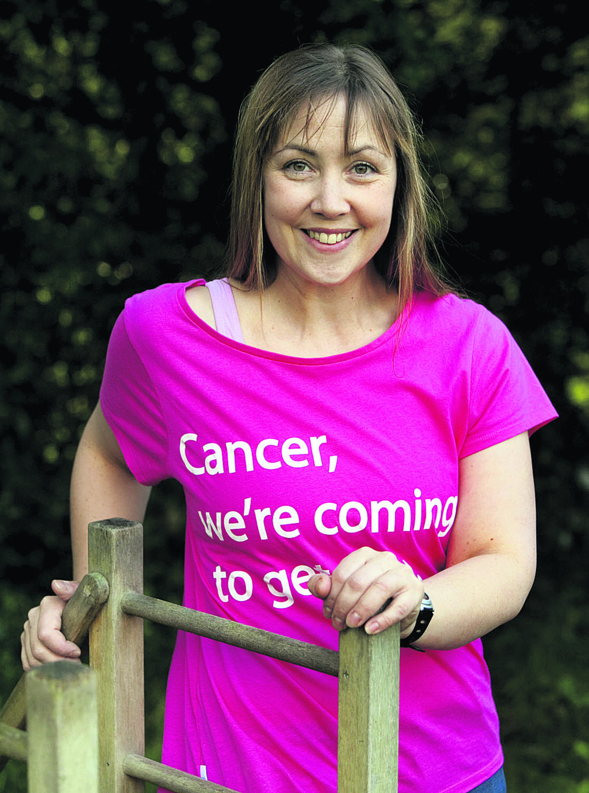 LEADER: Victoria Morrison will be running a warm-up session again at this year's Race for Life