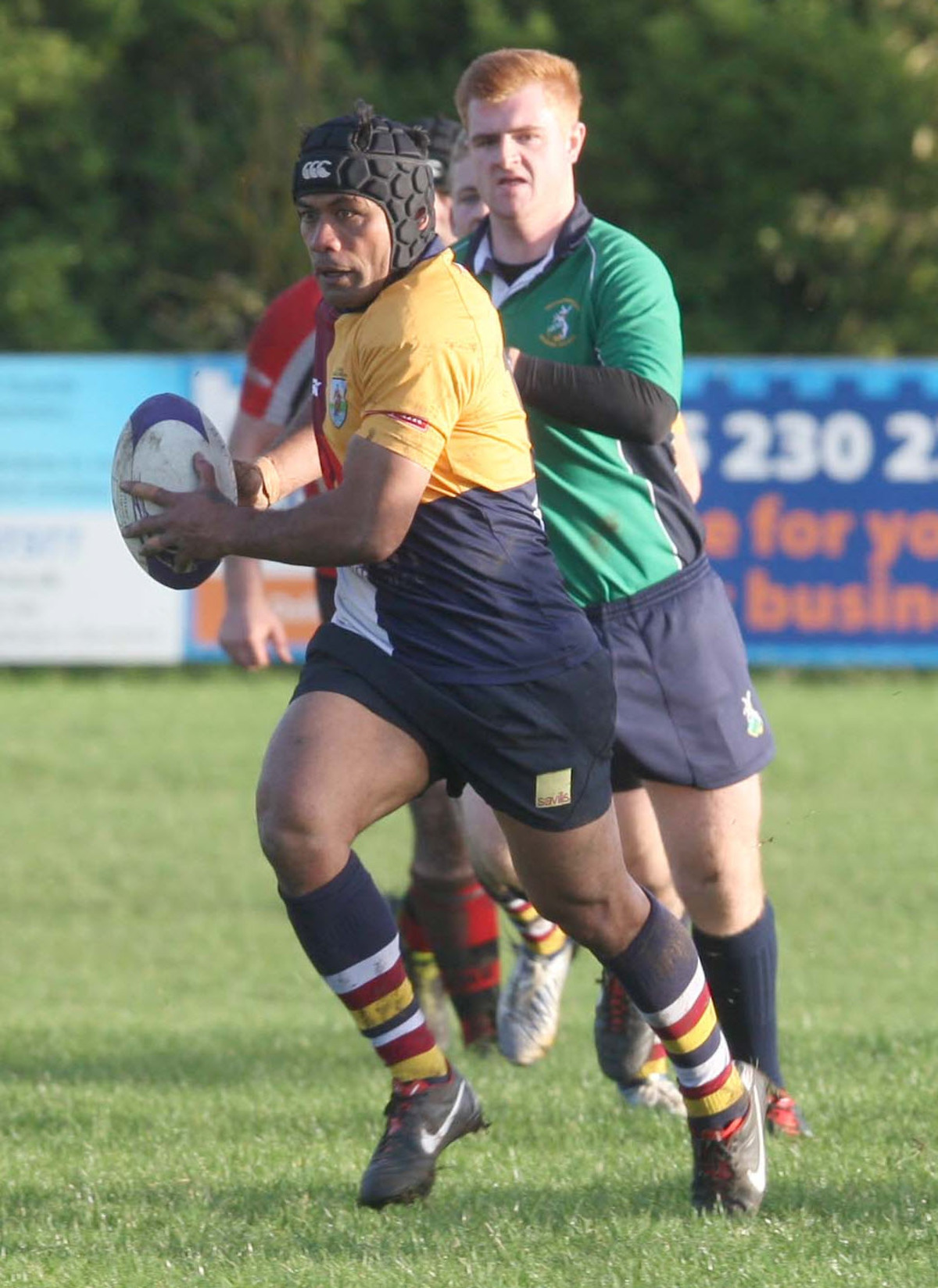 Keni Fisilau scored Oxford Harlequins' try in their 13-7 over Towcestrians