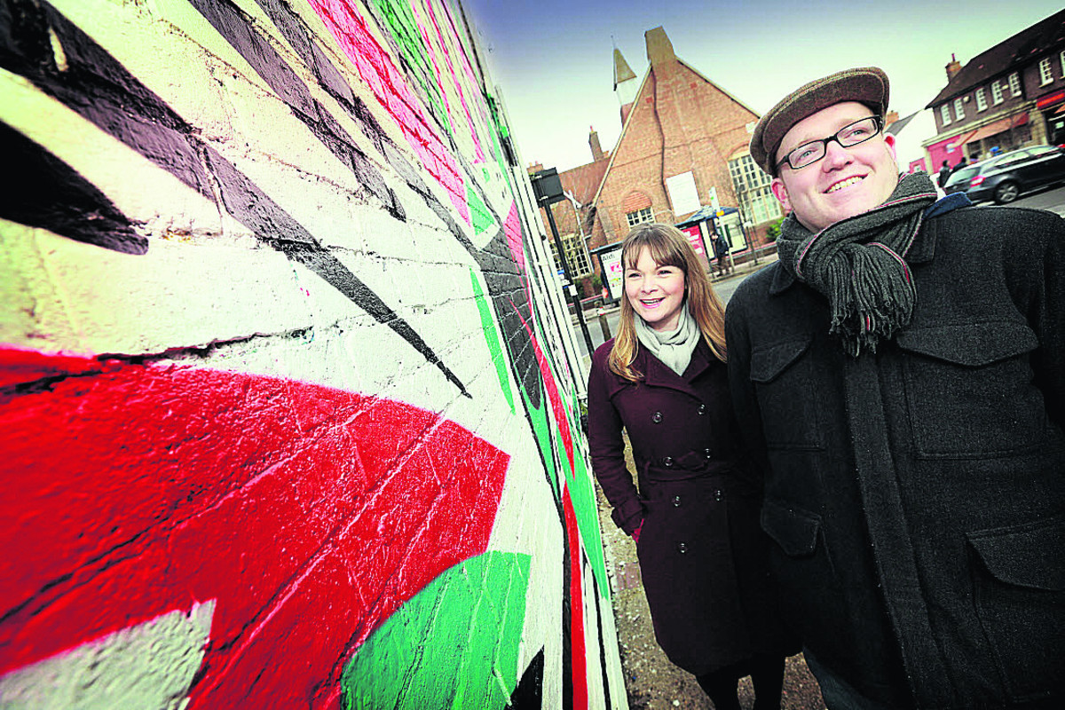 Nicola Armitage and Neill Cameron are among the artists who will work on the project           	Picture: OX64938 Damian Halliwell