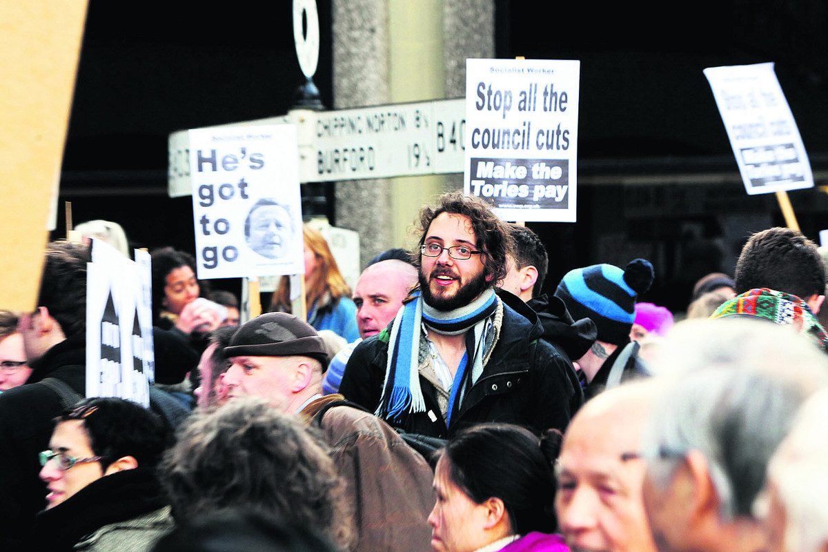 OXFORDSHIRE BUDGET SPECIAL: Storm of protest as £64m cuts clear first hurdle