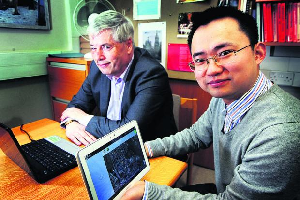 The Oxford Times: Prof Bill Roscoe of OxCept with his research assistant Dr Bangdao Chen