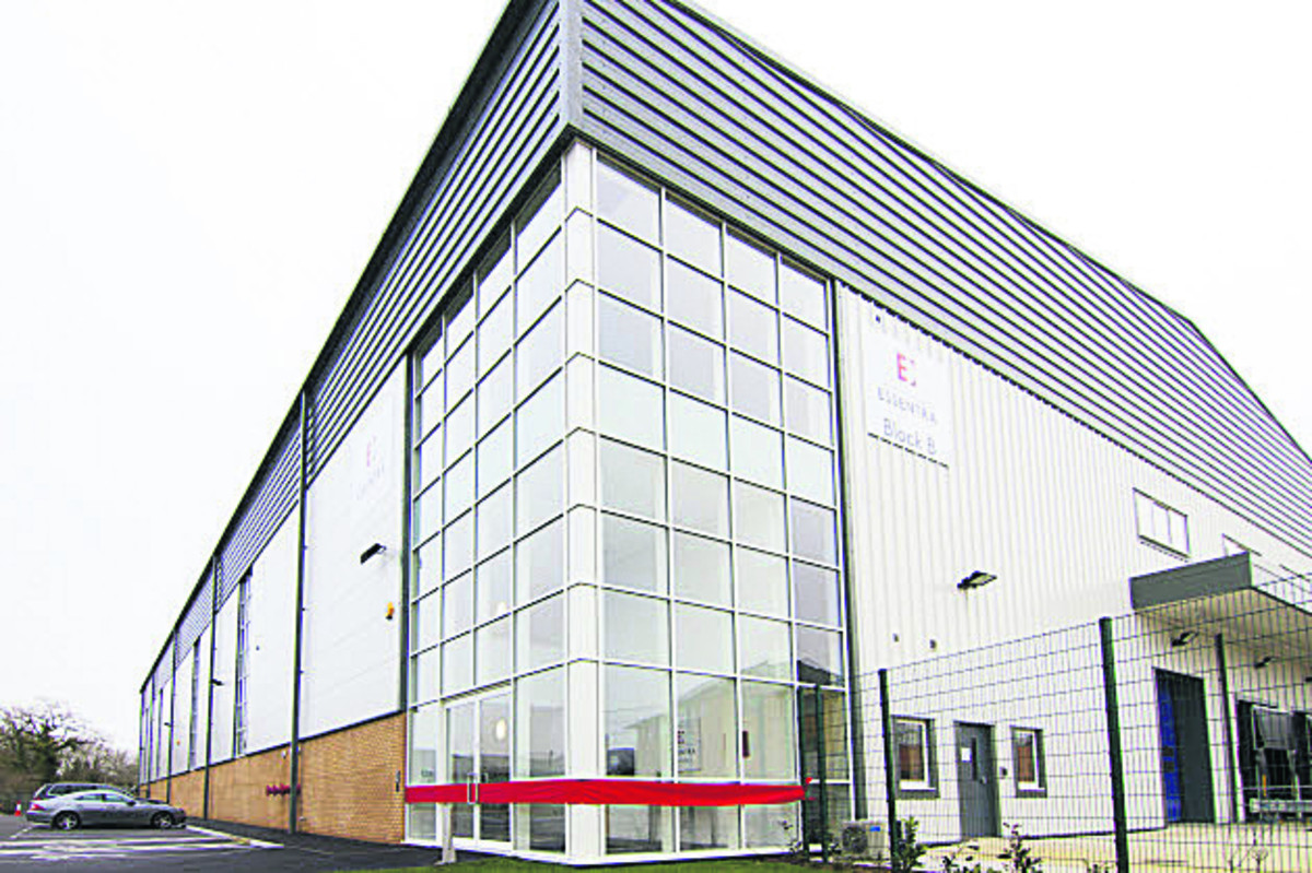 Essentra's new £7m manufacturing and distribution centre