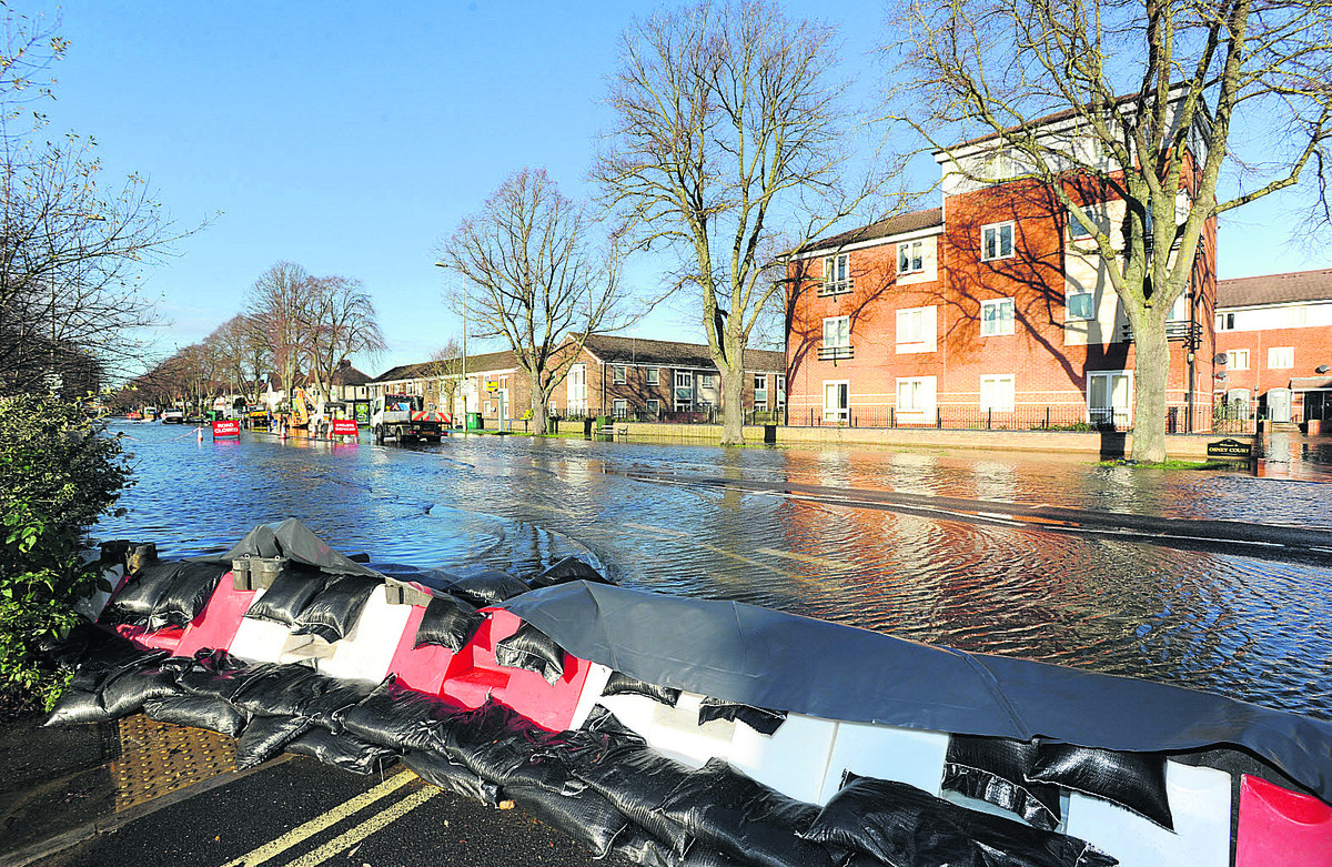 Flooding in Botley Road