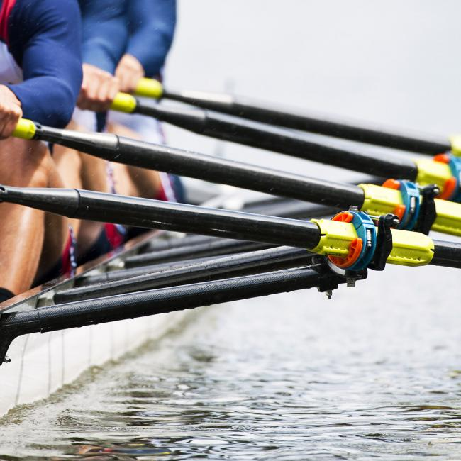 ROWING: Oxford Brookes lower Dark Blues colours in build-up to Boat Race