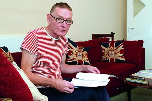 Cancer sufferer Paul Marlow from Barton whose disability living allowance is to be cut