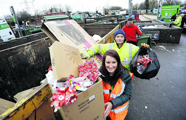 The Oxford Times: Rebecca Lake, of the Oxfordshire Waste Partnership