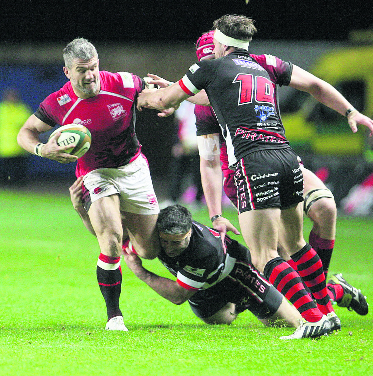 Tom May has recovered from injury has leads London Welsh against leaders Rotherham