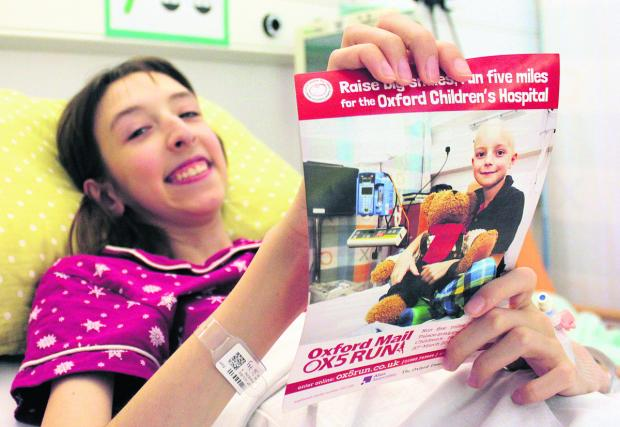 Naomi Smith, 13, received treatment for Marfan Syndrome,a genetic condition affecting the body's connective tissues that has caused her to be 5ft 10ins at just 13 years old