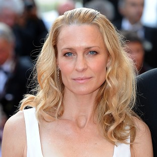Actress Robin Wright was