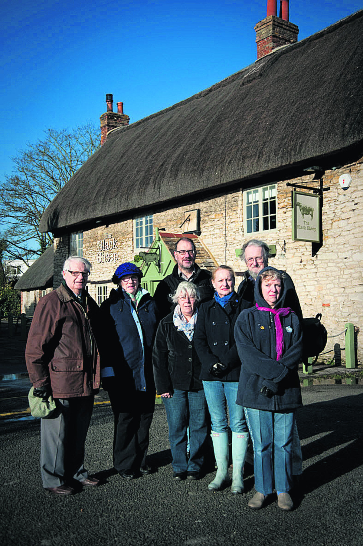 Outcry as Ben Jonson pub becomes the Black Sheep