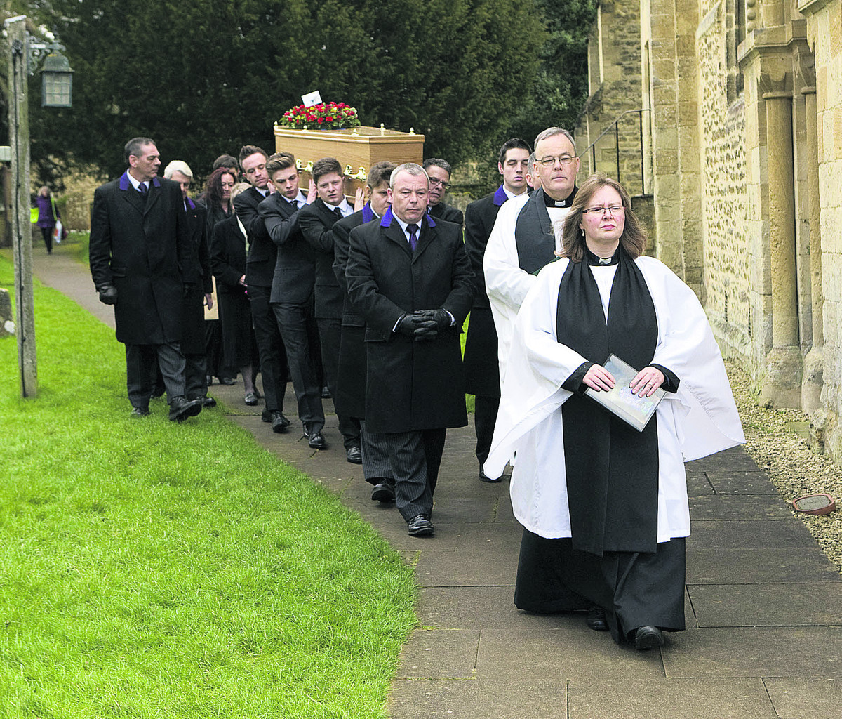 Tributes paid at former city Lord Mayor's funeral