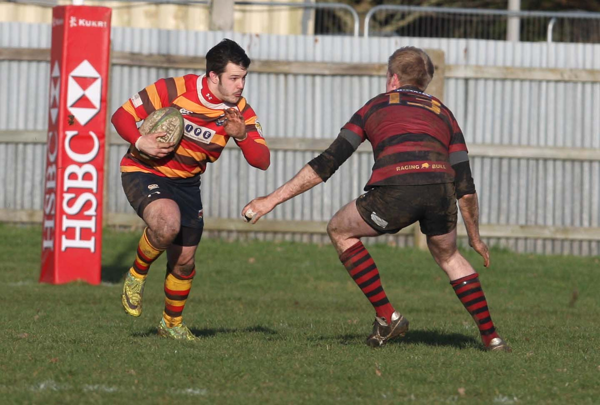 Steve Miller scored two tries for Bicester