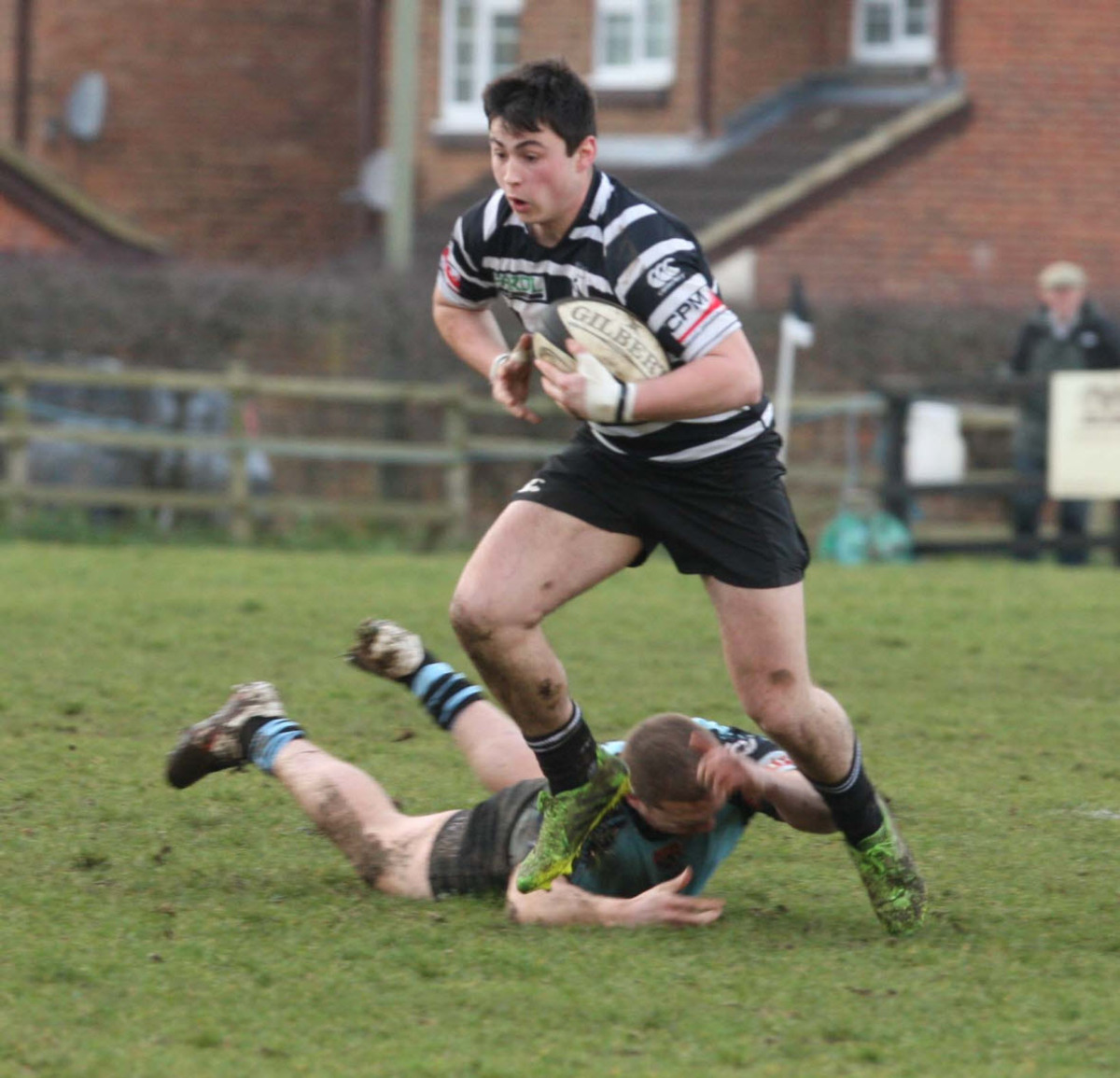 Will Millett scored 15 points for Chinnor