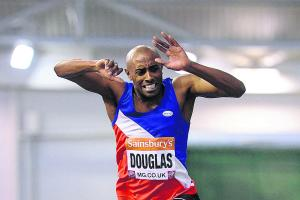 ATHLETICS: 'Rusty' Douglas fails to qualify for world indoor championships