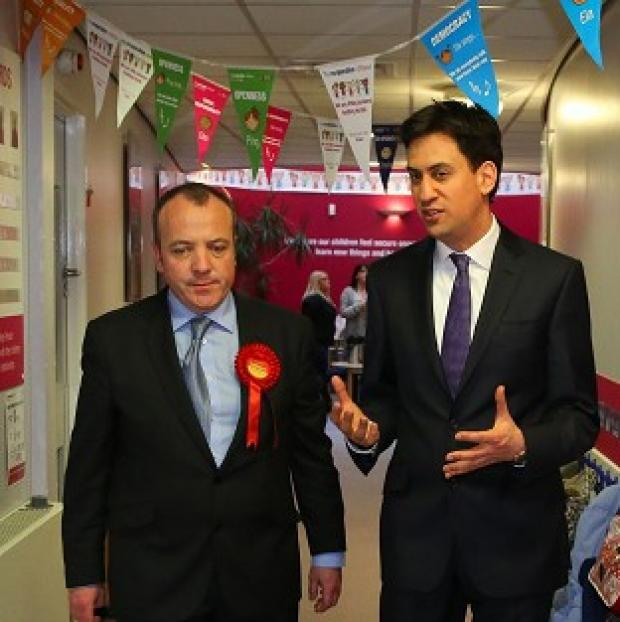 The Oxford Times: Labour Leader Ed Miliband helped new Wythenshawe and Sale East MP Michael Kane campaign