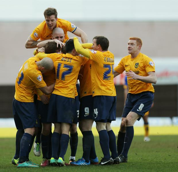 Video: Oxford United v Mansfield Town match highlights