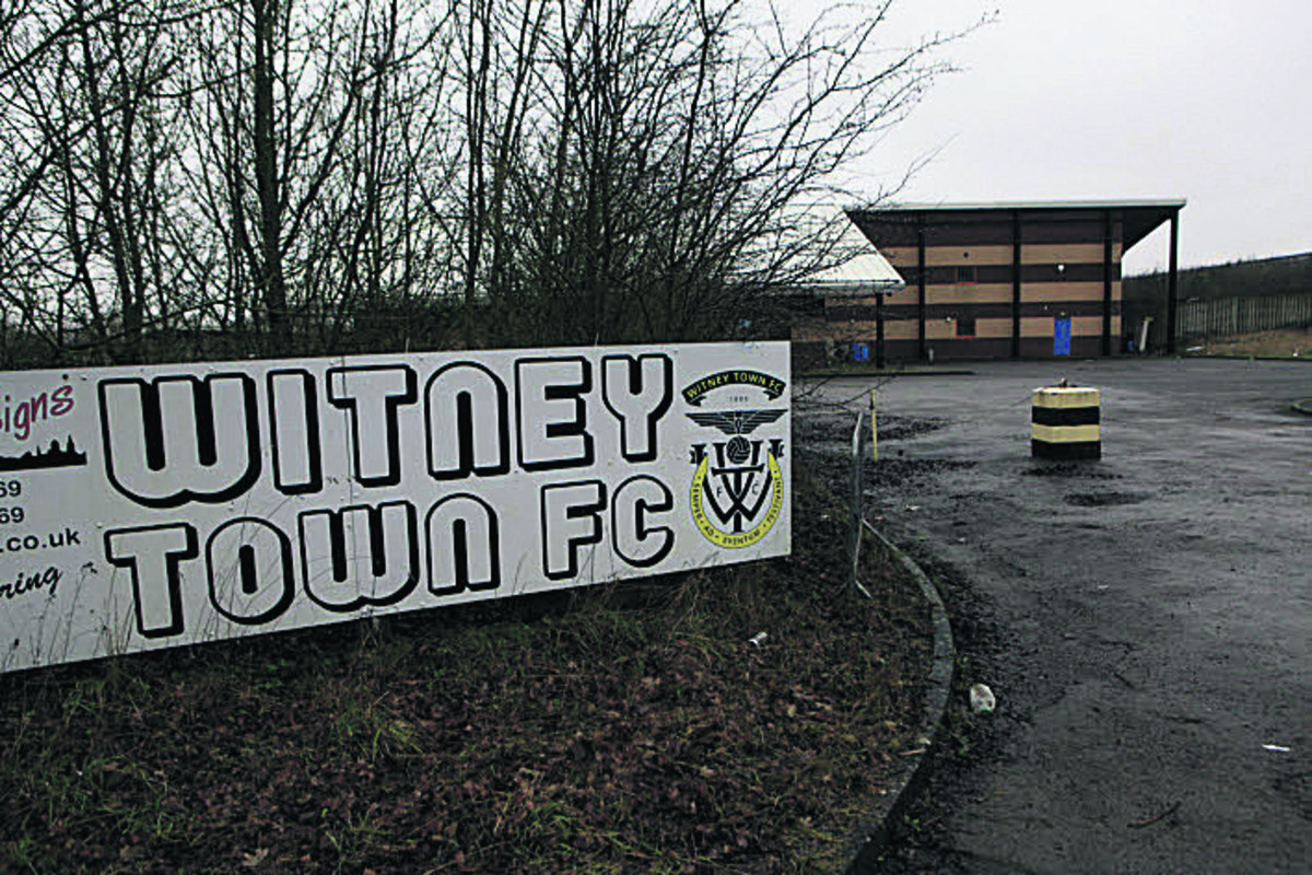 The old Witney Town stadium site