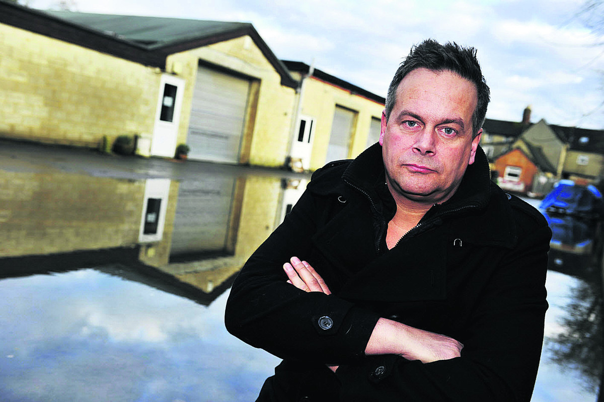 MOVING OUT: Witney Warehouse director Gary Soame