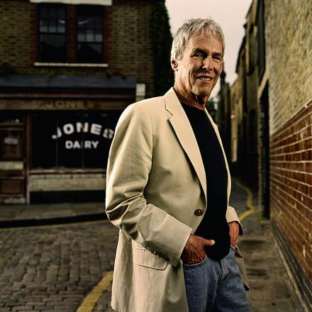 Burt Bacharach gets ready to perform in the county