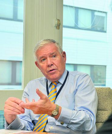 Oxford University Hospitals NHS Trust chief executive Sir Jonathan Michael