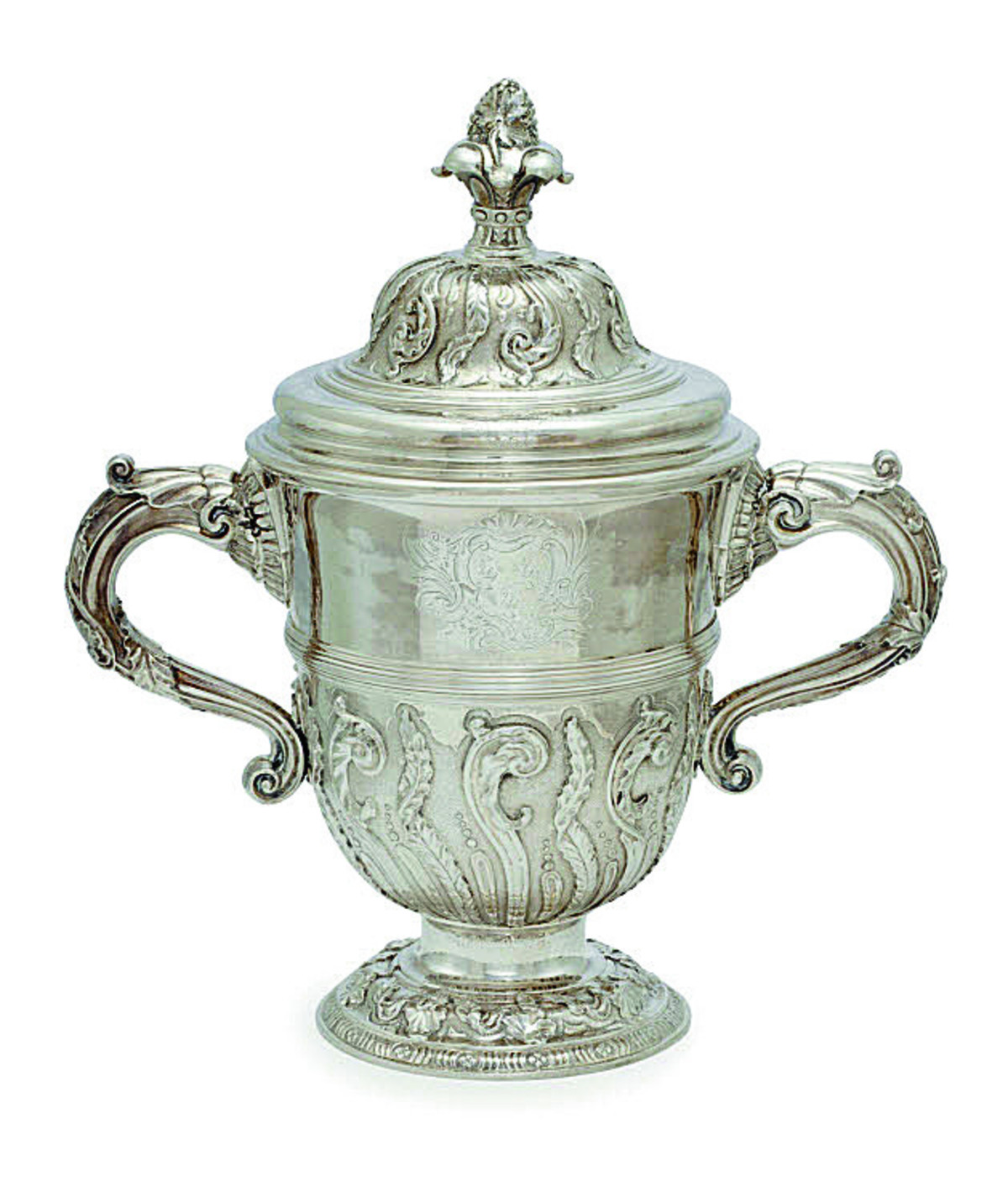 Silver cup could sell for £20,000 at auction