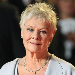 Dame Judi Dench suffers from macular degeneration, an age-related condition that leads to the gradual loss of vision