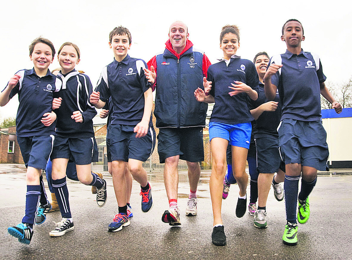 Follow Davina's example and go on the run for Sport Relief + Video