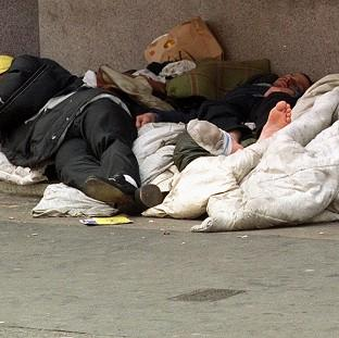 Counts and estimates compiled by local councils in the autumn put the number of people sleeping on the streets at 2,414