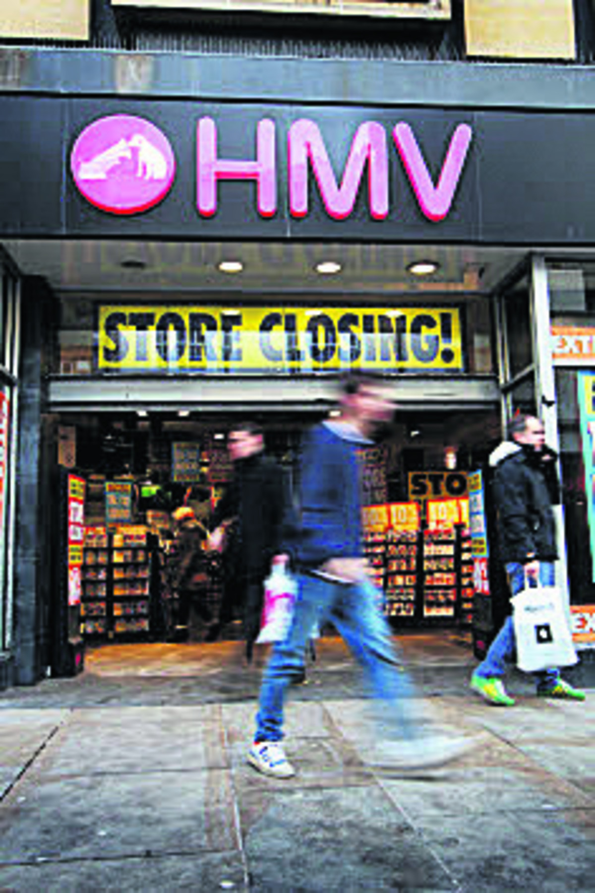 The Cornmarket HMV store