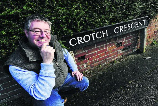 The Oxford Times: Peter East in Crotch Crescent, Marston