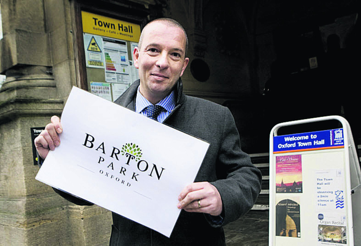 Fears new 'Barton Park' estate name will split community