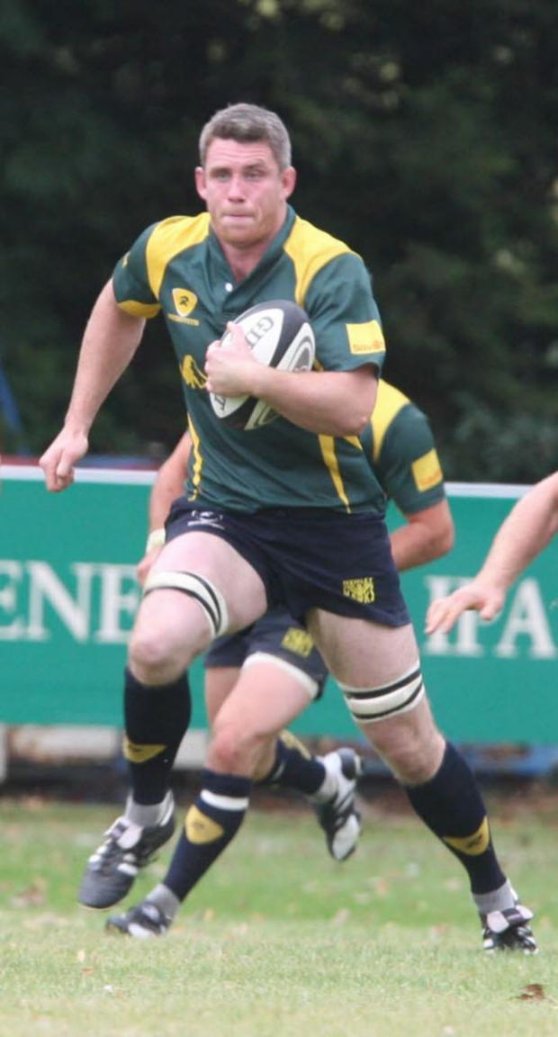 The Oxford Times: Matt Payne scored a try for Henley