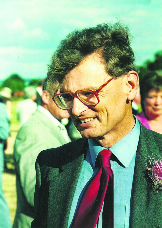 The Oxford Times: GP Richard Barnett  was a keen fundraiser  for local good causes